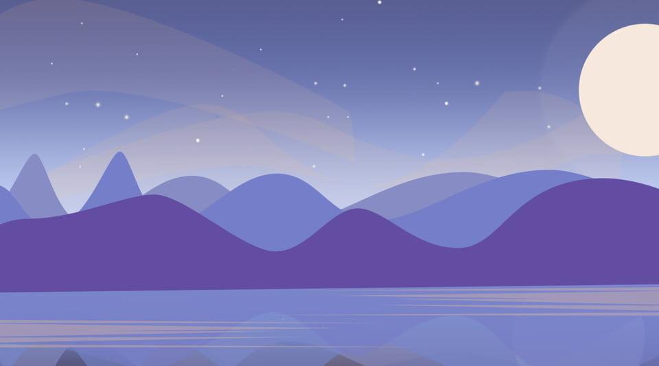 Beautiful Hand Painted Landscape Scenery Illustration Background, Landscape,  Color Background, Guest Background Background Image For Free Download
