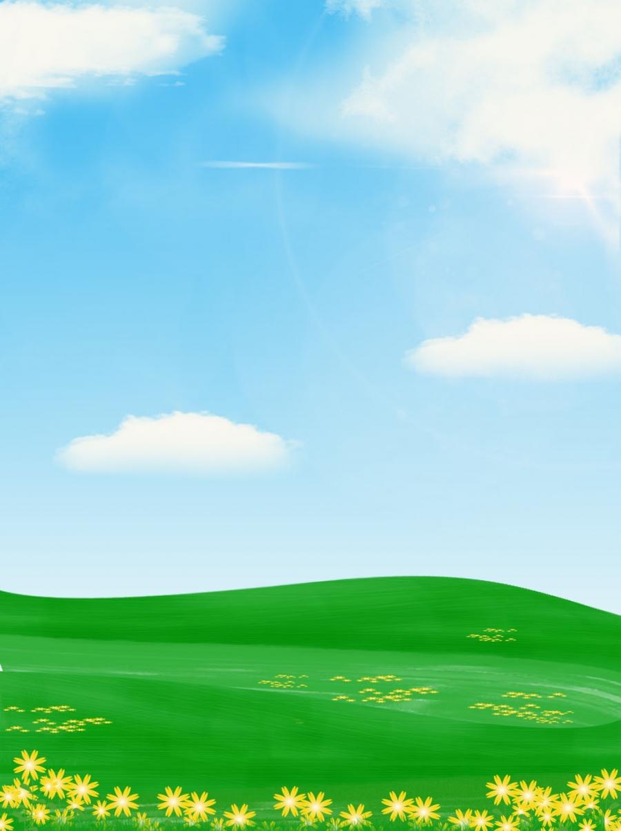 Langit Biru Awan Putih Rumput Hijau Latar Belakang Iklan, Langit Biru, Awan  Putih, Rumput Gambar Latar Belakang Untuk Unduhan Gratis