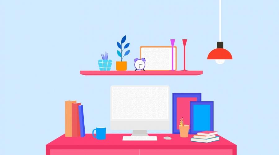 Cartoon Home Study Illustration Background, Book, Bookcase, Cozy Background  Background Image for Free Download