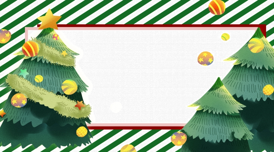 Christmas Tree Display Board.Creative Fresh Air Christmas Display Board Background