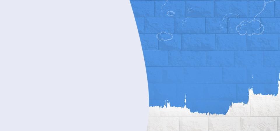 Frais Mur Gris Bleu Gris Mur Peinture Image De Fond Pour