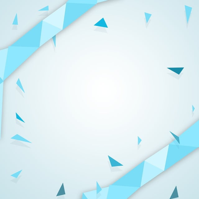 Light Blue Abstract Geometric Polygon Background Vector