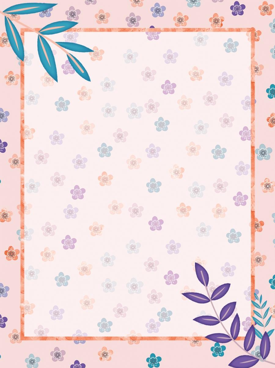 Lightly Crushed Flower Color Background Image Light Pink Floral