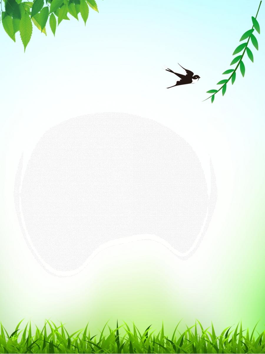 Illustration Background Hand Drawn Background Green