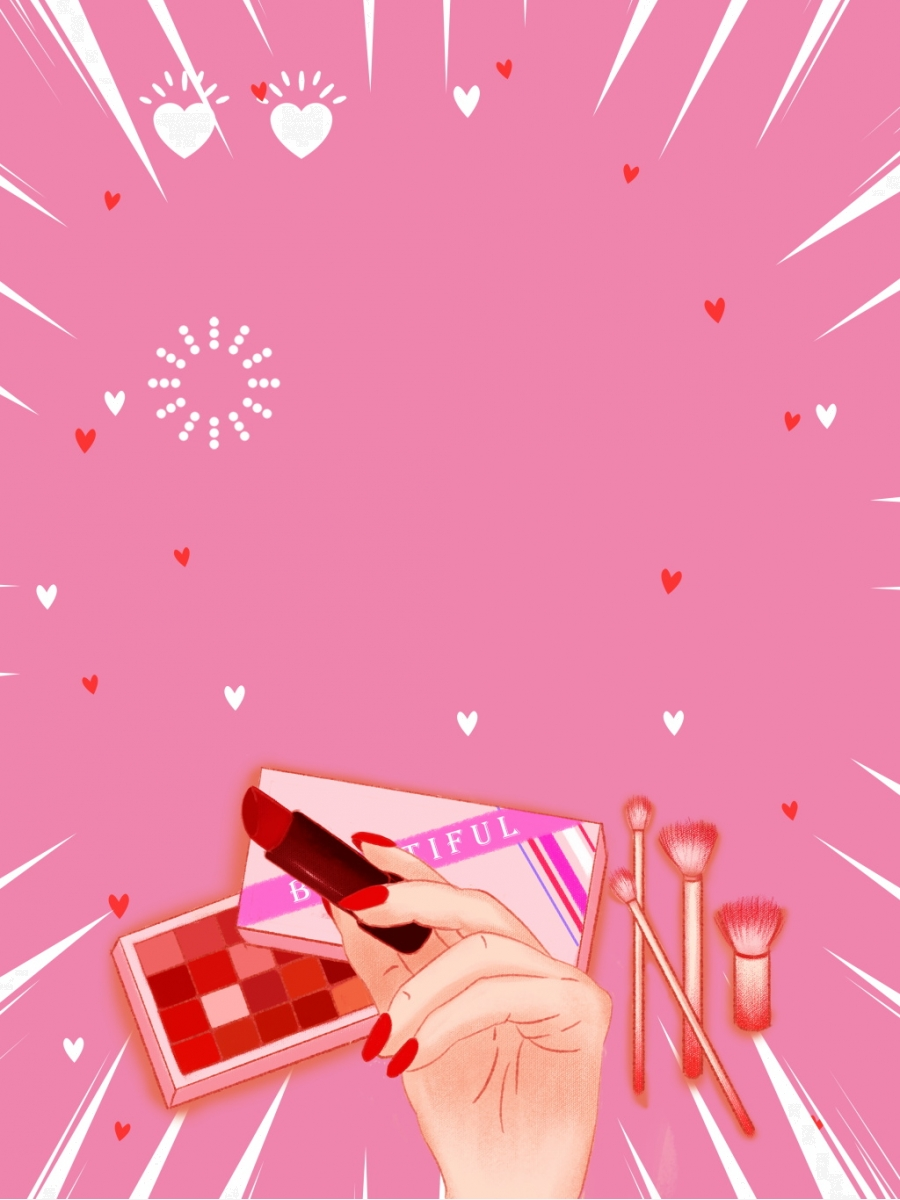 Pink Cute Beauty Products Advertising Background Pink Background Skincare Background Advertising Background Background Image For Free Download