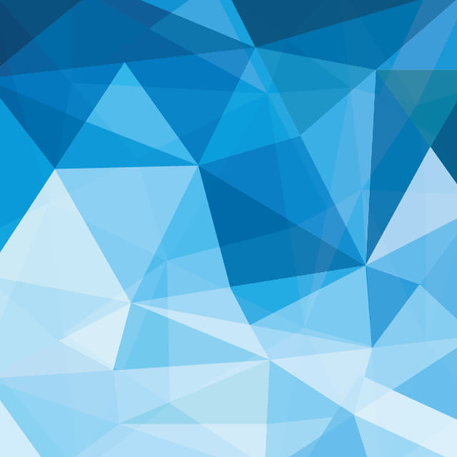 Abstract Background Polygonal Triangle Blue Blue Wallpaper
