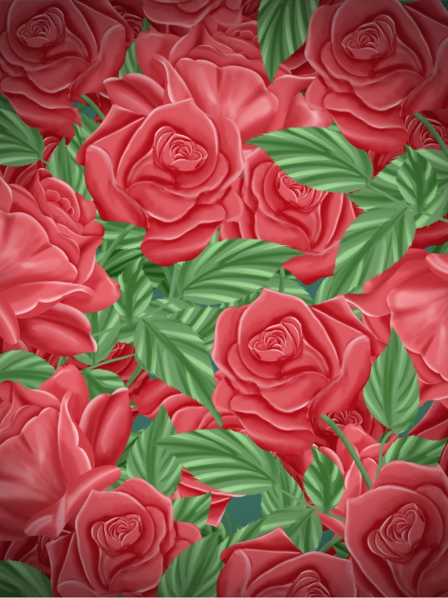 Rose Flowers Background Picture Rose Flowers Background Material