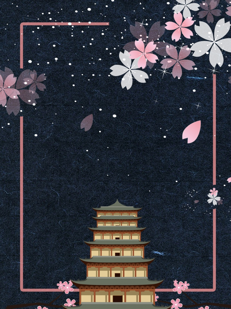 Sakura Downstairs Empty City New Language Extreme Aesthetic
