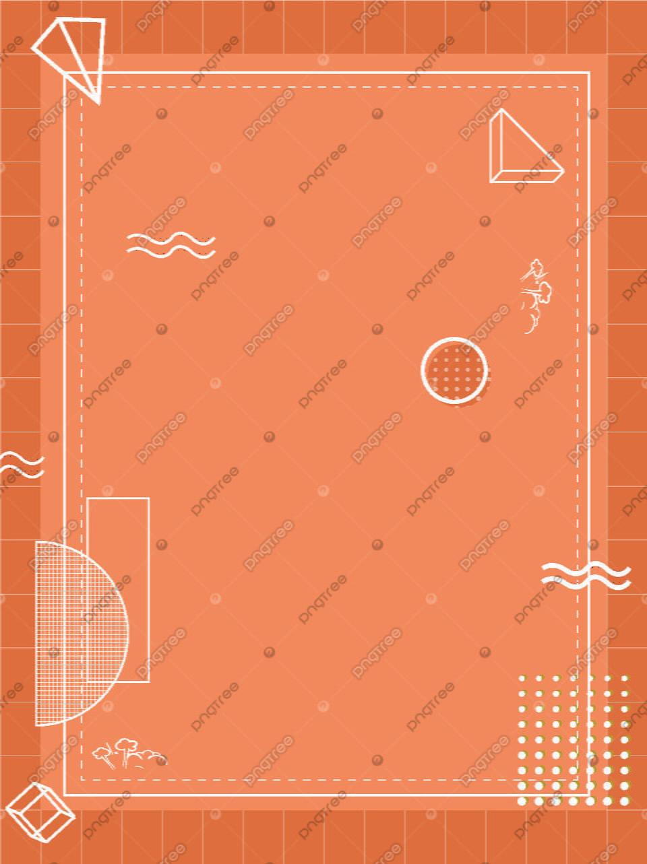 Bahan Latar Belakang Kisi Oranye Atmosfer Sederhana Sederhana Suasana Latar Belakang Kotak Kotak Gambar Latar Belakang Untuk Unduhan Gratis