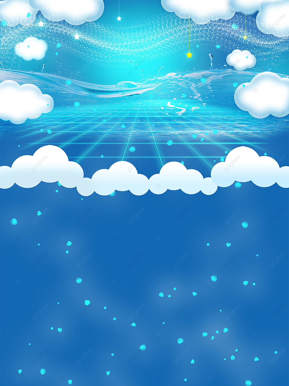 Biru Angin Segar Langit Biru Dan Latar Belakang Ilustrasi Awan Putih, Latar  Belakang Warna, Langit Biru Dan Awan Putih, Latar Belakang Ilustrasi Gambar  Latar Belakang Untuk Unduhan Gratis