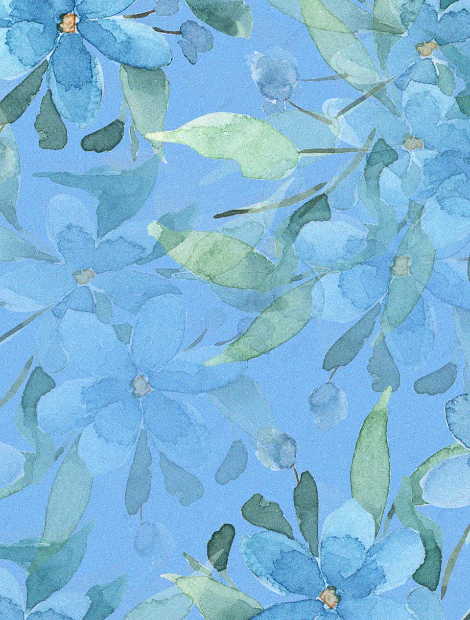 Asli Yang Dilukis Dengan Tangan Biru Perlindungan Lingkungan Atmosfer Latar Belakang Bunga Yang Indah Pengurangan Pajak Perlindungan Lingkungan Seni Gambar Latar Belakang Untuk Unduhan Gratis