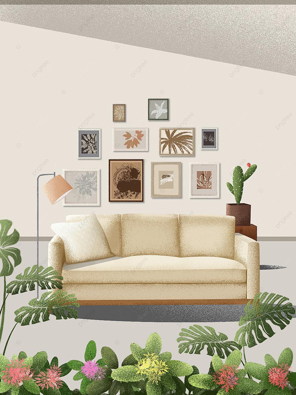 Peta Latar Belakang Sofa Rumah Modern Mewah Ringan, Peta Latar Belakang  Mewah Ringan, Ringkas, Sederhana Gambar Latar Belakang Untuk Unduhan Gratis