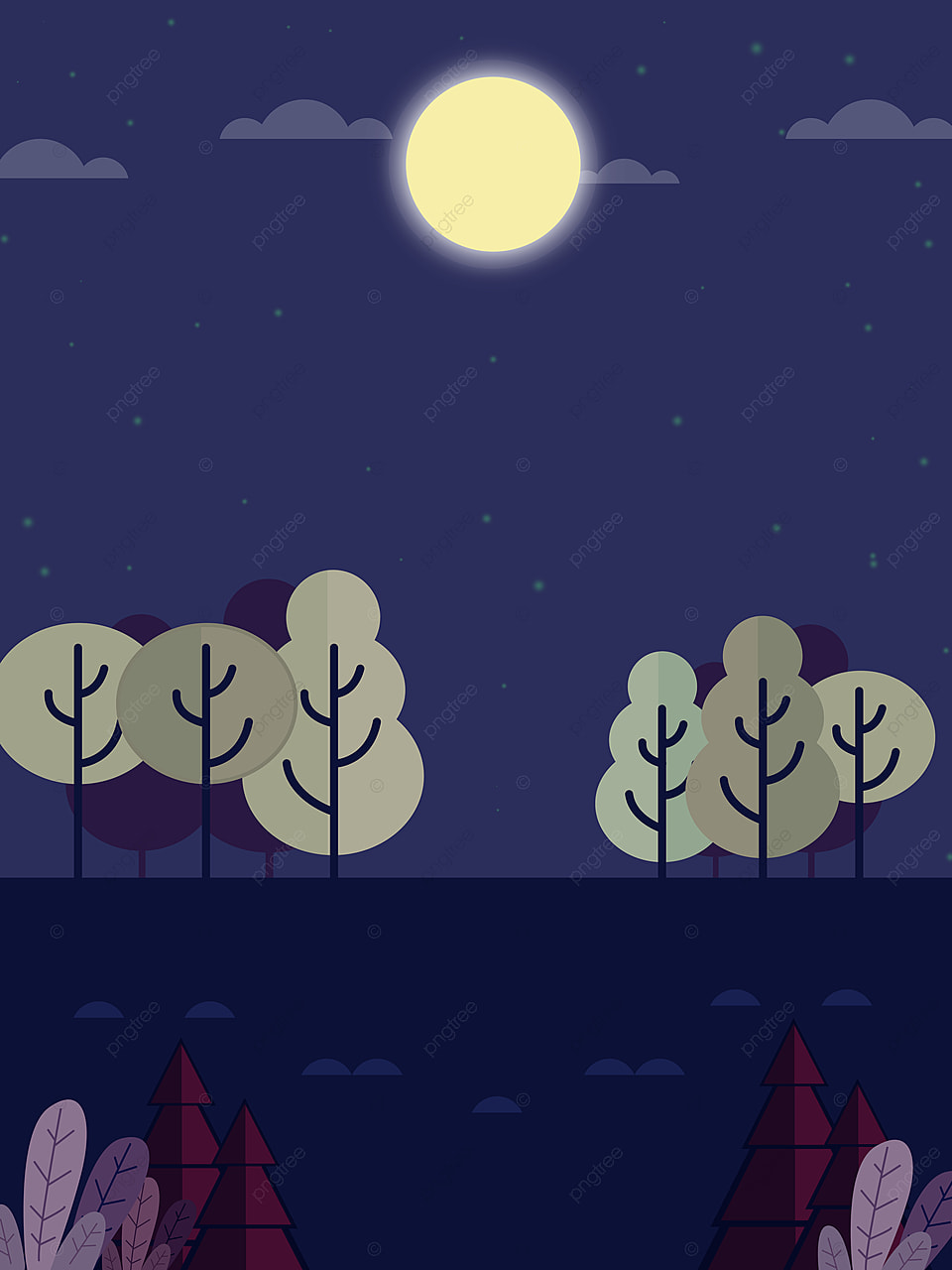 Cartoon Tree At Night / No download, no surveys and only instant premium streaming of cartoons.