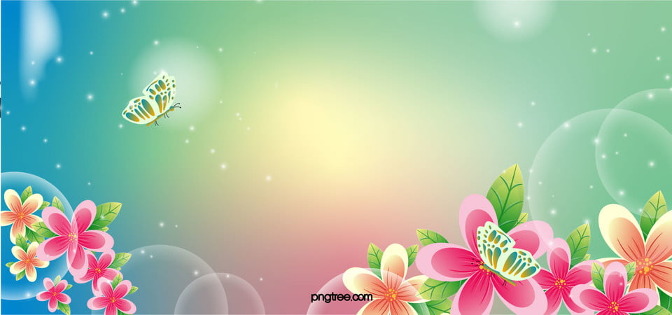 Beautiful Background Spring Panels Promotions Background Image