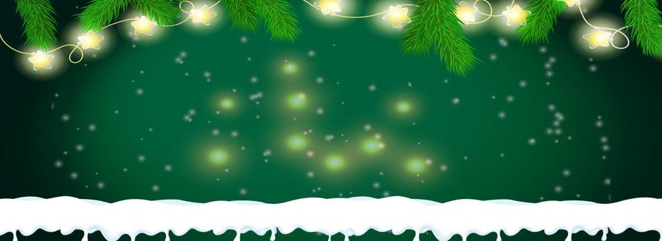 Warm Christmas Lights Background Light Poster Banner Image