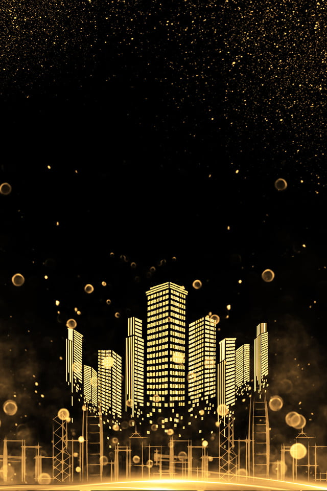 Black city buildings background night city poster banner black city buildings background voltagebd Images
