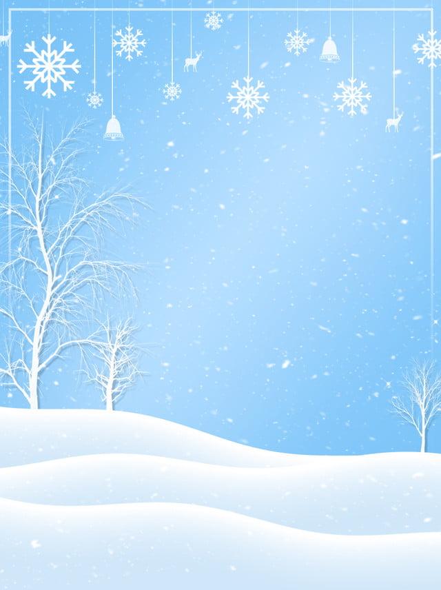 Decoracion Invierno La Nieve Diseño Antecedentes Vacaciones