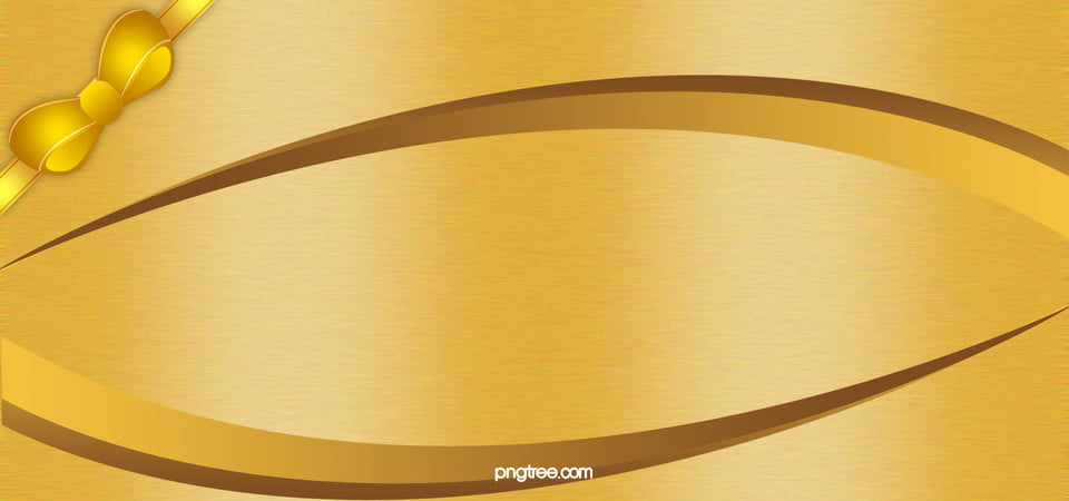 Simple Gold Background Gold Background Bow Simple Background Image For Free Download