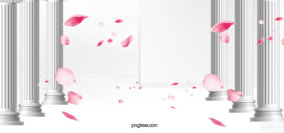 Wedding Background Rose Petal Petals Wedding Background