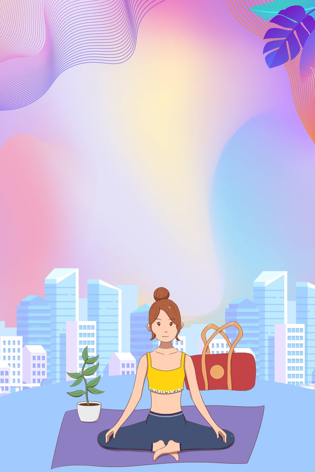 Yoga Background Yoga Meditate Cozy Background Image For Free Download