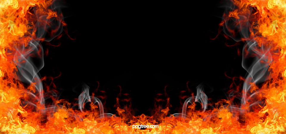 Burning Fire Background Combustion Raging Fire Background
