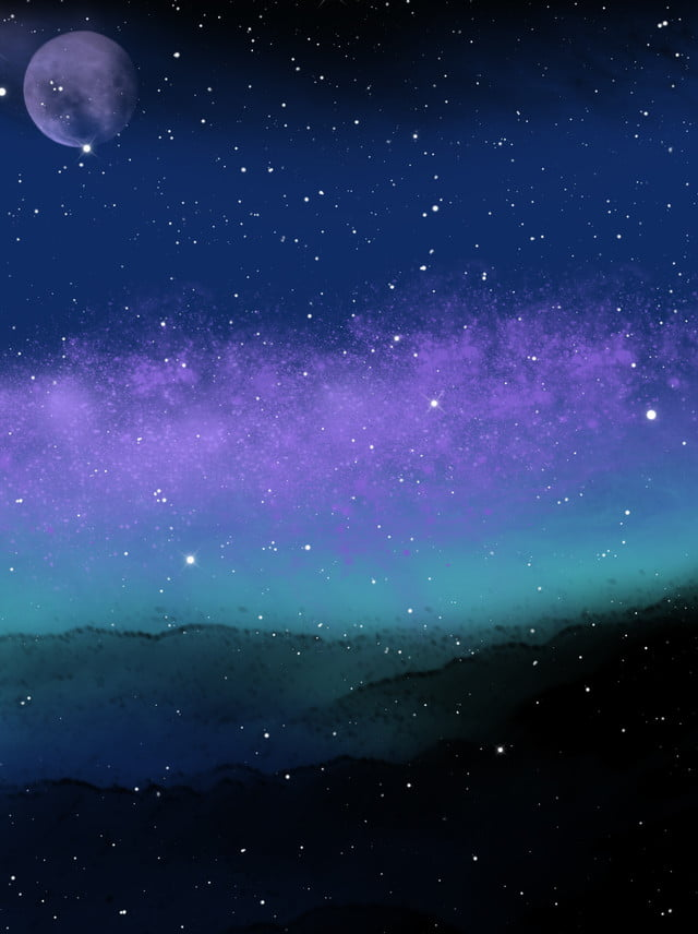 Starry Night Background Night Stars Sky Background Image For