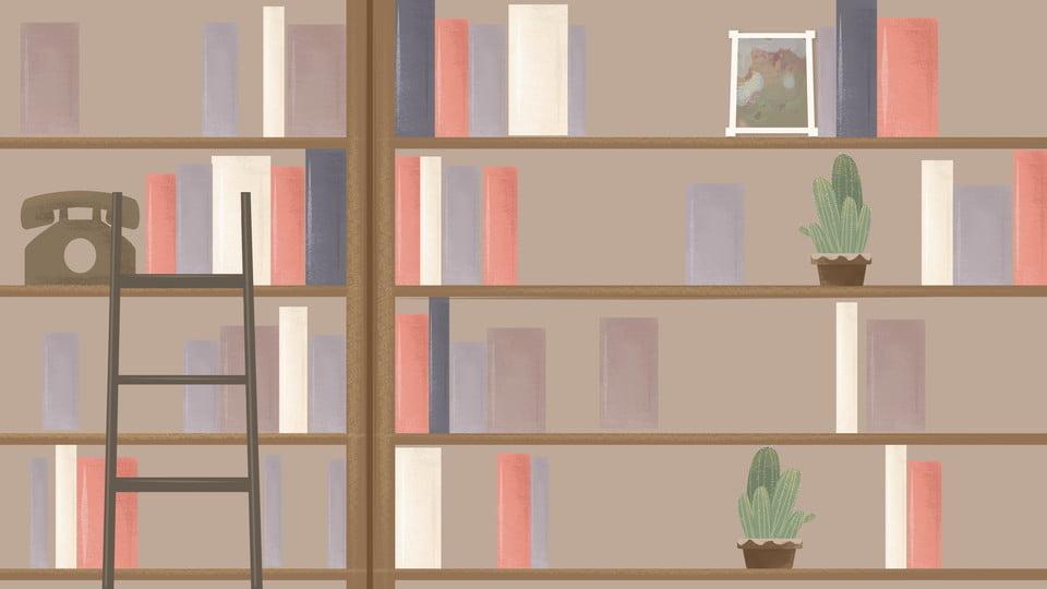 Bookshelf background