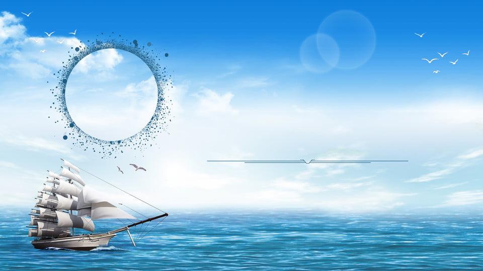 ocean mer p u00eacheur de l u0026 39 eau contexte plage bateau sun image