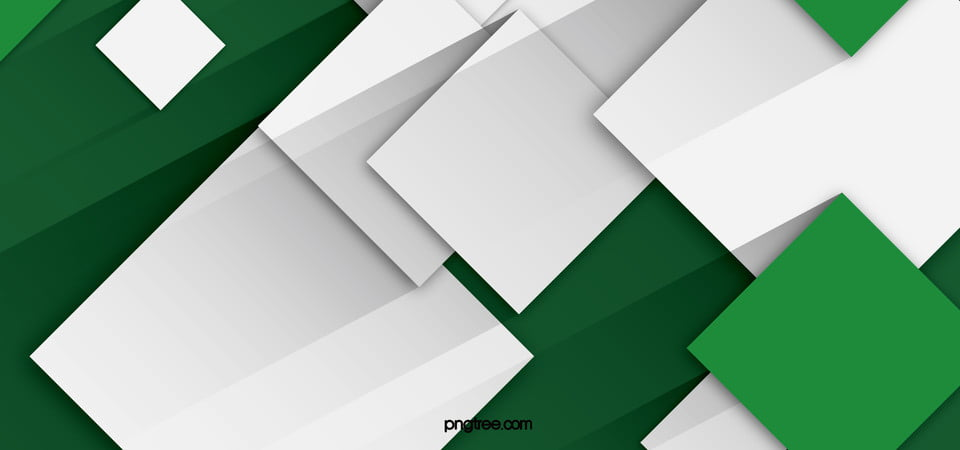 White Simple Green Geometric Background Geometry Image