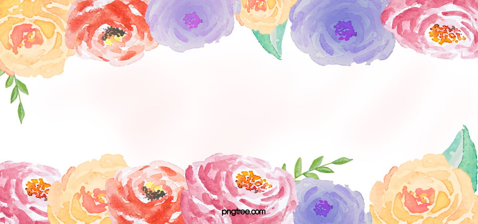 Pastel Flowers Fresh Background Romantic Flowers
