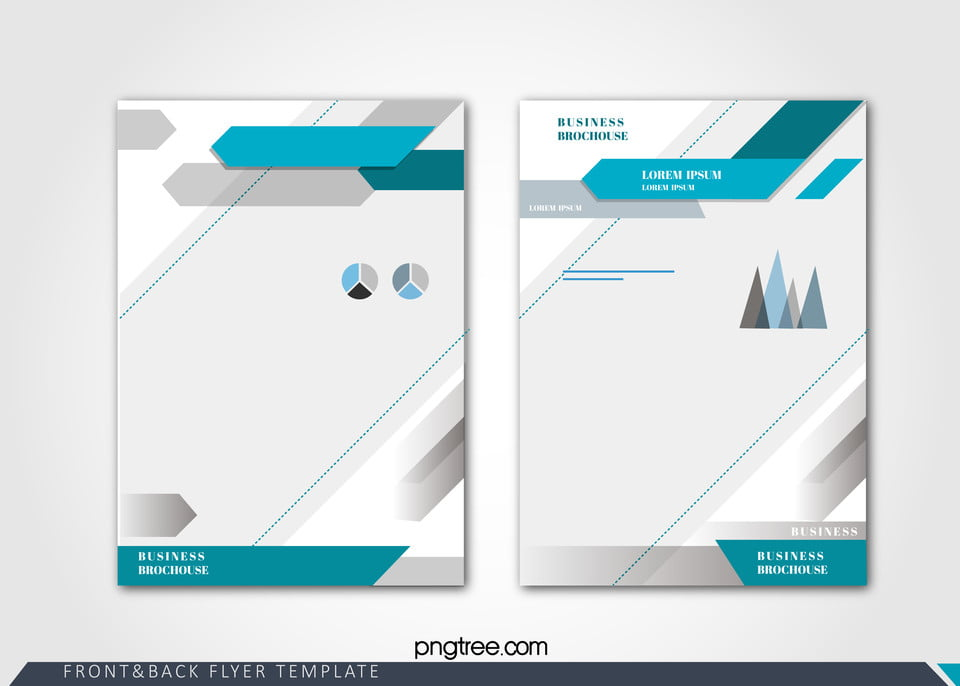 Fashion business single page brochure design vector for One page brochure template