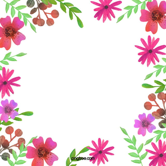 watercolor floral background watercolor flower natural background