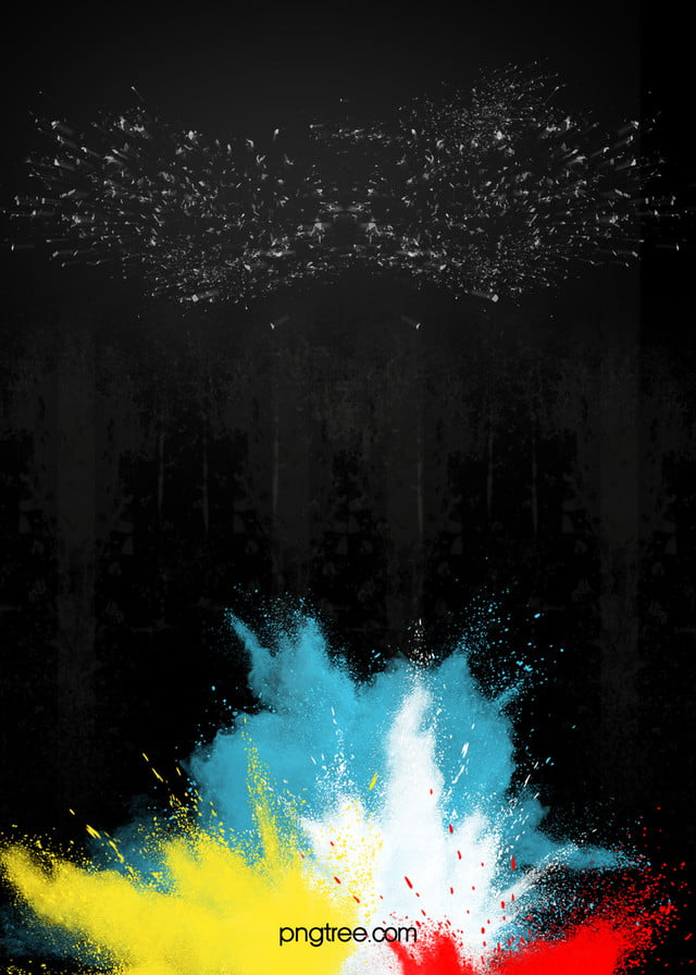 Black Texture Background Poster Splash Of Color Background Image For Free Download