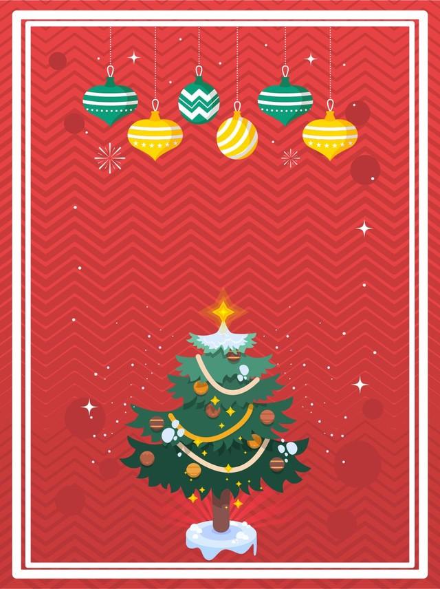 Giorno Di Natale.Sfondo Rosso Per Il Giorno Di Natale Per L Albero Di Natale