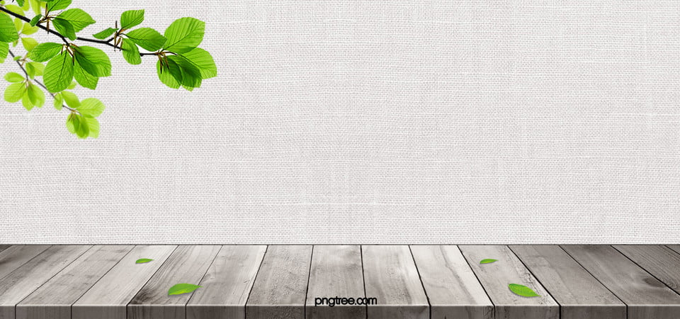 White Colored Wooden Floor Background Leaves Textured Wood Image