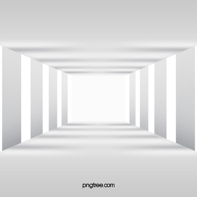3d white corridor pillars background 3d white corridor for Wallpaper 3d white