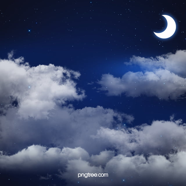 Tergantung Di Bulan Langit Malam Berbintang Bintang Malam Bulan Gambar Latar Belakang Untuk Unduhan Gratis