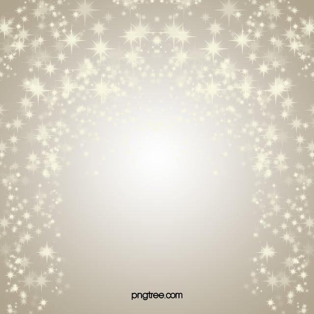 Pale Gold Background Star Christmas Happy New Year