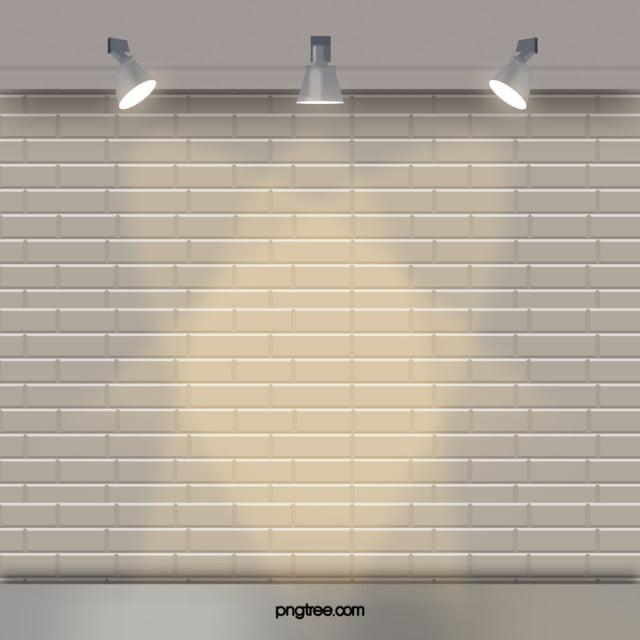 white brick wall background lighting white brick wall