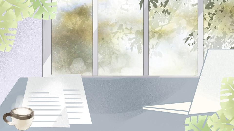 Wooden Desk Background ~ Business notebook desk background wooden