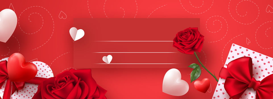 Red Roses Romantic Wedding Background Red Romantic Rose