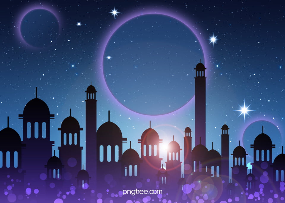 Islamic architectural style fantasy background