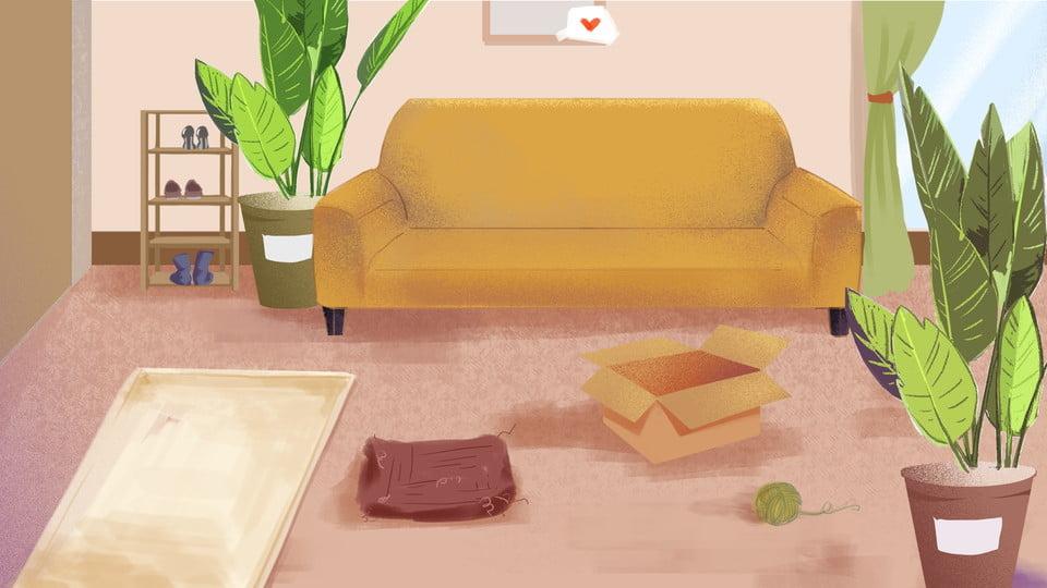 Maroon,living Room Interior Design, Brown, Red, Living Room, Background  Image