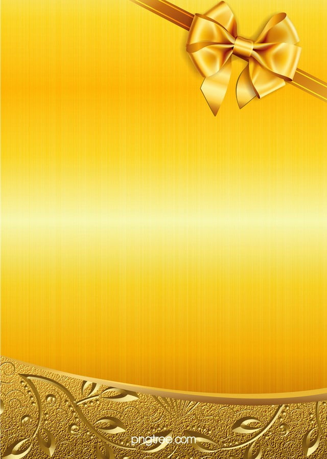 gold bow h5 background material  golden  bow  pattern