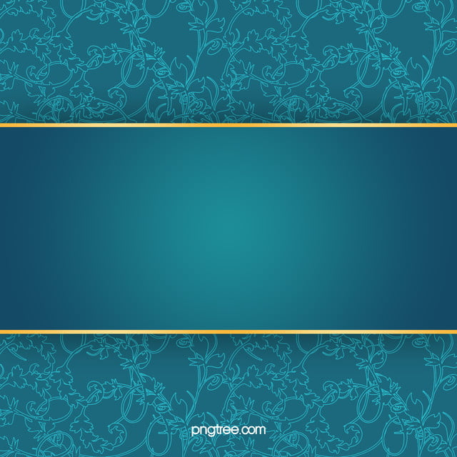 Business Invitation Card Blue Pattern Background Material