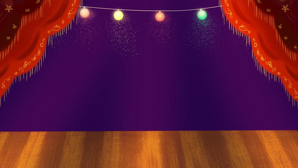 Spotlight Stage Background