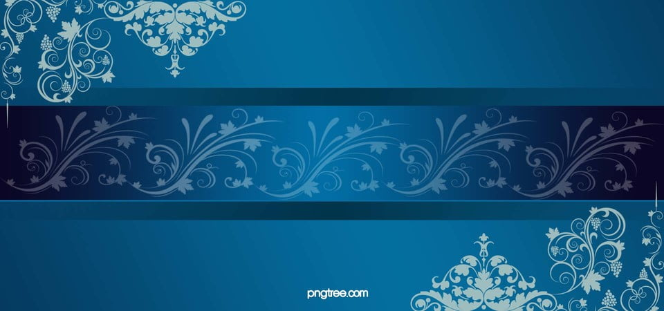 Gorgeous Blue Background Business Cards Creative Front Image