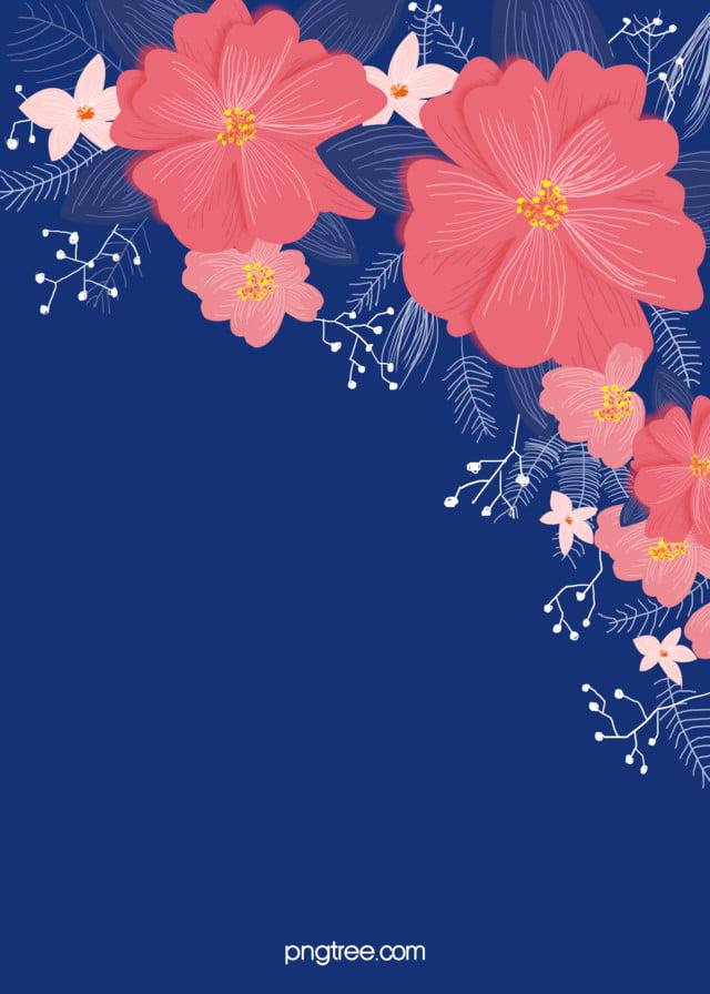 Flores de color rosa, hojas de la planta las invitaciones de la boda ...