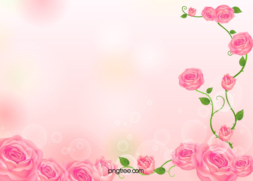 roses card background material