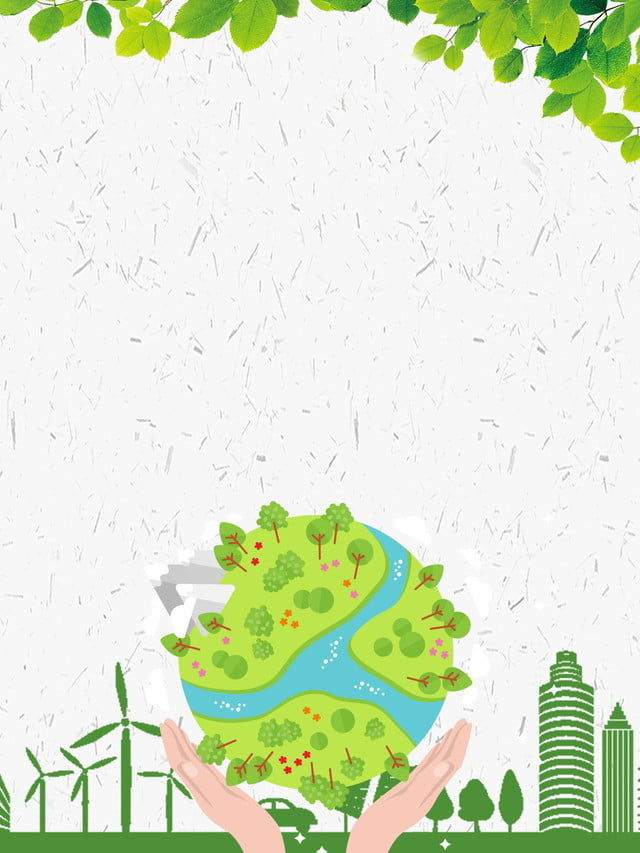 Green Logo Background Environmental Protection Green Background Image For Free Download
